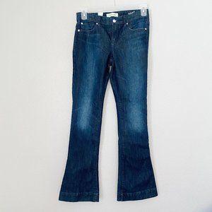 HENRY & BELLE Heritage Dark Wash Micro Flare Jean